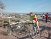Fernando Cabrera y Francisco Cánovas, del Club Ciclista Santa Eulalia, participan en el CX de La Hoya (Ciclocross)