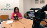 El PP solicita que se reacondicione y redistribuya el parque infantil y biosaludable de el Fenazar
