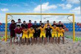 La Selecci�n China de F�tbol Playa entrena en Mazarr�n