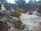 Sierra Espuña registra la mayor concentración de precipitaciones de la Región de Murcia durante el temporal de lluvias generalizadas