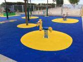 Concluyen las obras del nuevo parque infantil del 'Vista Alegre'