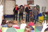 Una tarde de cuentos en la biblioteca municipal de alhama