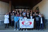 La plantilla de ElPozo Murcia FS celebran la comida navideña centrados en ganar a Osasuna Magna