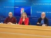 El Ayuntamiento de Molina de Segura firma un convenio social de colaboración con la Asociación de Vecinos Sagrado Corazón para el desarrollo del proyecto AVESCO III MILENIUM