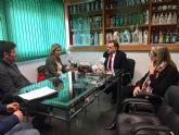 La Alcaldesa de Molina de Segura realiza una visita a la empresa química AROM