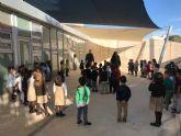 La zona de Infantil del Colegio Ntra. Sra. del Rosario ya dispone de espacios de sombra en el patio