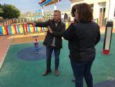 El CAI San Antonio en Torre Pacheco cuenta con un nuevo parque infantil