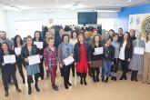 Una veintena de desempleados se forman en atención sociosanitaria en Aidemar
