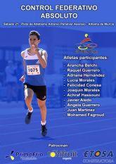 Los atletas del Club Atletismo Alhama presentes en la �ltima competici�n del año