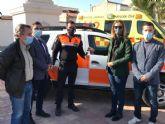 Los voluntarios de Protección Civil de Fortuna cuentan con un nuevo vehículo para sus intervenciones