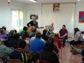 Miembros del grupo musical 'La Calle del Silencio' visitan los Centros de D�a para la Discapacidad del Ayuntamiento