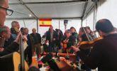 Autoridades municipales asisten a la tradicional misa y baile de pujas en El Raiguero Bajo coincidiendo con la festividad de San Fulgencio