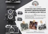 Campaña recuperación fotos y archivos antiguos de la música en Yecla