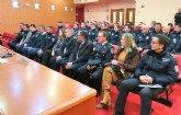 Los cinco agentes aspirantes a ingreso en el Cuerpo de Policía Local de Alguazas comienzan su formación en la ESPAC
