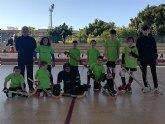 Doble victoria de los benjamines del Club Hockey Patines Totana en la Liga Valenciana