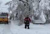 El 1-1-2 ha gestionado hasta las 20.30 h. un total de 1.117 incidentes relacionados con el temporal de nieve, viento y lluvia