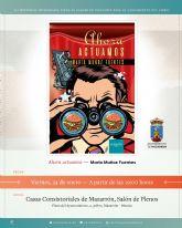 La mazarronera María Muñoz presenta este viernes su libro 'Ahora actuamos´'