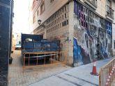 Continúa la mejora de la accesibilidad en el municipio con las obras en las calles Val, Aurora y Sevilla