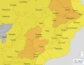 Meteorología advierte de rachas de viento de hasta 90 km/h mañana en el Noroeste y Guadalentín