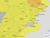Alerta amarilla por vientos en Cieza este viernes