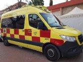 La ambulancia no asistencial regresa a Alhama