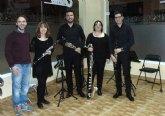 El cuarteto de clarinetes Slap ofreció un concierto