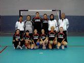 La asociación femenina de balonmano Villa de Mazarrón donará sus fondos a asociaciones del municipio