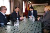 Fernando López Miras se reúne con el presidente de la Federación Española de Enfermedades Raras