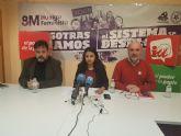 Pineda, candidato de IU al Parlamento Europeo, defiende en Murcia un nuevo modelo de UE al servicio de los pueblos y no de las élites económicas