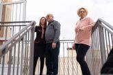 El Hogar del Pensionista de La Aljorra ya dispone de escalera de evacuación