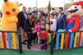 Las Lomas del Albujón también estrena parque infantil con Picachu y Bob Esponja