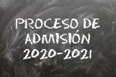 Plazo de matrícula en los colegios e institutos de Alhama para el curso 2020-2021