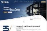FRECOM estrena página web para incrementar la interacción con sus asociados y ofrecerles más servicios