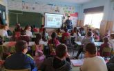 Continúan los encuentros de Deporte y Nutrición en los centros educativos, CEIP Cuatro Santos
