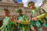 Pequeños y mayores celebran el carnaval 2020 este viernes