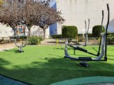 Alguazas apuesta por la salud y el deporte con un nuevo gimnasio urbano ubicado en la Plaza Paco Serna