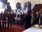 Visita del Piquete de artillería a la Cofradía de NP Jesus Reducitado