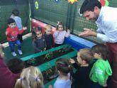 La Escuela municipal Infantil estrena huerto escolar