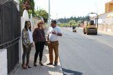 El Ayuntamiento renueva el asfaltado del barrio Nuevo San Pedro
