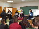 Clausura de los Talleres de Emprendimiento impartidos por AMUSAL al alumnado de los Programas Mixtos de Empleo y Formación en Molina de Segura