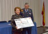 La Base Aérea de Alcantarilla dona más de 15.000€ a tres asociaciones