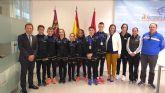 El Alcalde de Torre Pacheco, recibe a deportistas del Club Koryo, medallistas en el Campeonato de Europa por Clubes de Combate