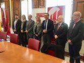 El Ayuntamiento de Molina de Segura firma un convenio con la Universidad de Murcia y la Universidad Politécnica de Cartagena para la creación de la Cátedra Abierta Interuniversitaria para la Innovación y la Participación