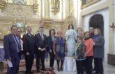 La Comunidad entrega a la parroquia de Churra la imagen ya restaurada de la Virgen de la Encarnación