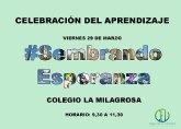 Celebración del aprendizaje Colegio La Milagrosa