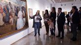 Abierta la exposición de pinturas de Medina Vera con motivo de su centenario y donde se han reunido obras que hasta ahora solo se encontraban en museos y colecciones particulares