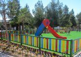 Reformada la zona infantil del jardín Infanta Cristina de La Florida torreña