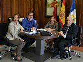 La Alcaldesa  mantuvo una reunión de trabajo con el presidente del  Consejo de Transparencia de la Región