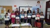 'Crece en seguridad' premia a los escolares de Villanueva del Río Segura por sus conocimientos sobre prevención de riesgos laborales