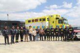 Más de 150 efectivos de seguridad y emergencias están presentes en el Mundial de Enduro